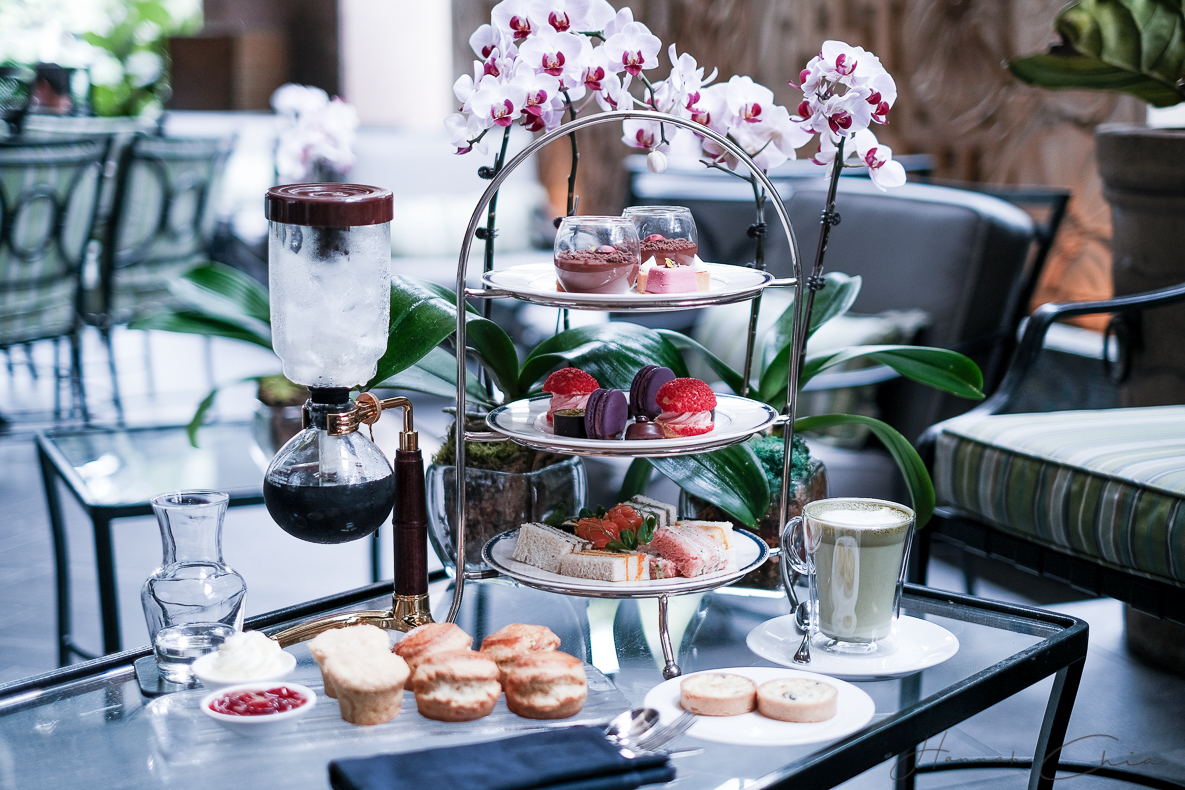 Floral Afternoon Tea at One-Ninety Bar